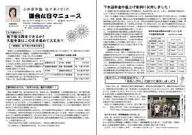 佐々木ナオミ議会な日々ニュース2010年夏号
